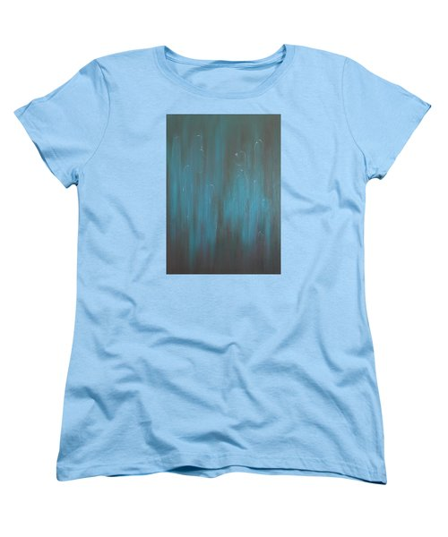 Women's T-Shirt (Standard Cut) featuring the painting All Kinds by Min Zou