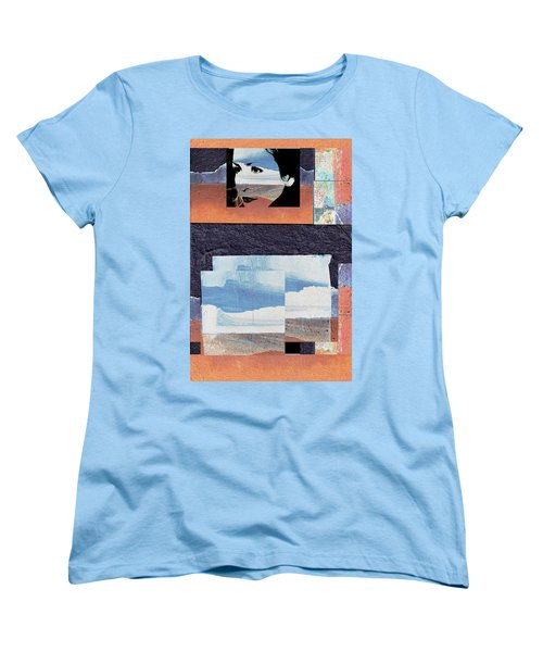 Women's T-Shirt (Standard Cut) featuring the photograph All That We See Or Seem Is But A Dream Within A Dream, Even She by Danica Radman