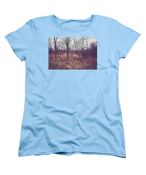 Women's T-Shirt (Standard Cut) featuring the photograph All The While by Shane Holsclaw