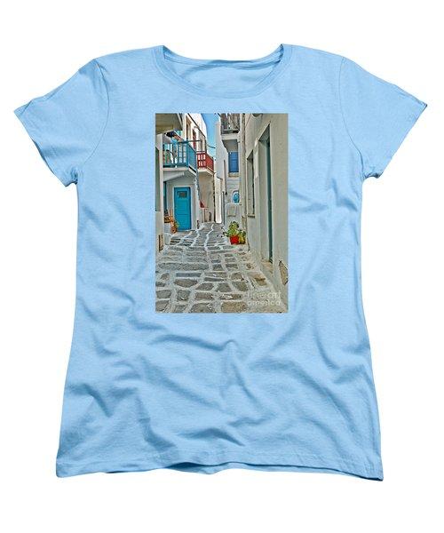 Alley Way Women's T-Shirt (Standard Cut) by Joe  Ng