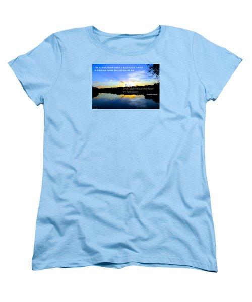 Women's T-Shirt (Standard Cut) featuring the photograph Allies by David Norman
