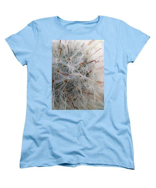 Women's T-Shirt (Standard Cut) featuring the photograph Allium Sativum by Jolanta Anna Karolska