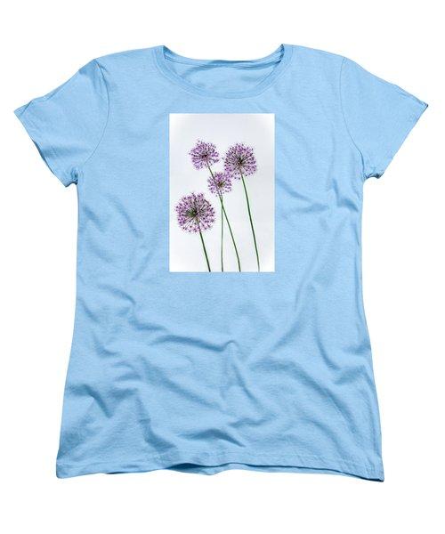 Alliums Standing Tall Women's T-Shirt (Standard Cut) by Susan  McMenamin