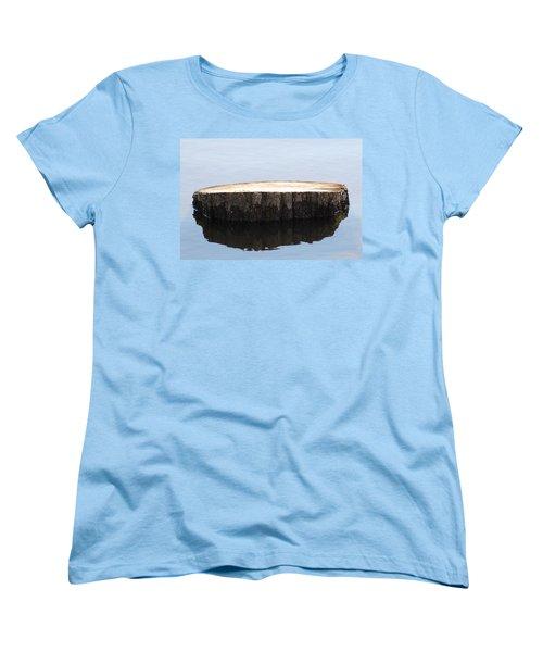 Women's T-Shirt (Standard Cut) featuring the photograph Alone But Strong by Paul SEQUENCE Ferguson             sequence dot net