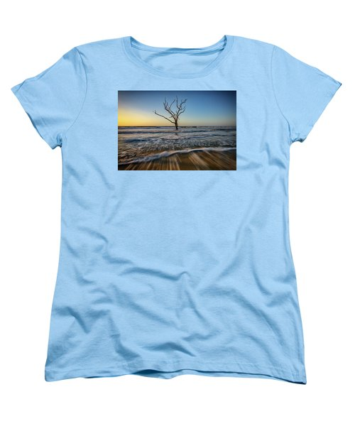 Women's T-Shirt (Standard Cut) featuring the photograph Alone In The Water by Rick Berk