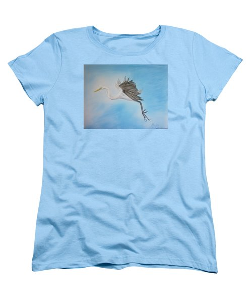 Alone Women's T-Shirt (Standard Cut) by Maris Sherwood
