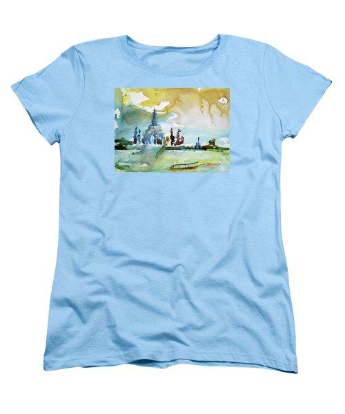 Along The Chao Phaya River Women's T-Shirt (Standard Cut) by Tom Simmons
