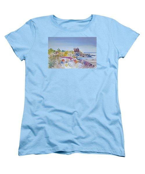 Along The Coast Women's T-Shirt (Standard Cut) by P Anthony Visco