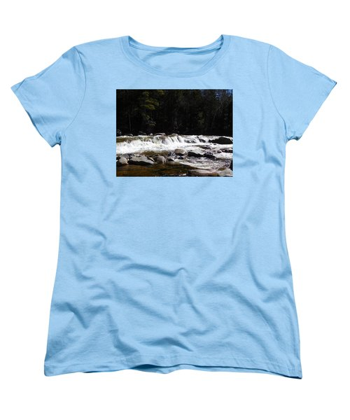 Along The Swift River Women's T-Shirt (Standard Cut) by Catherine Gagne