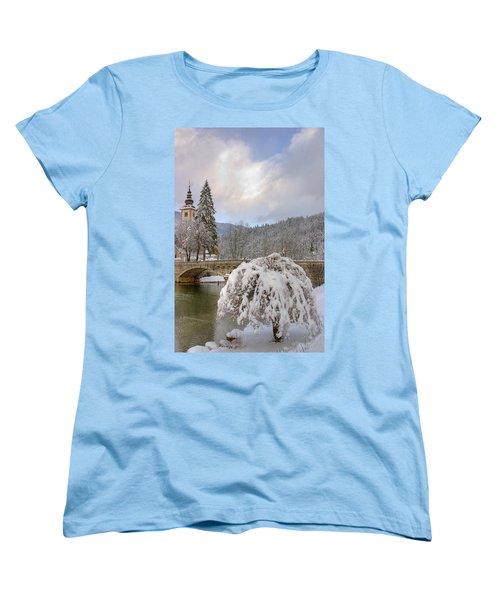 Alpine Winter Beauty Women's T-Shirt (Standard Cut)