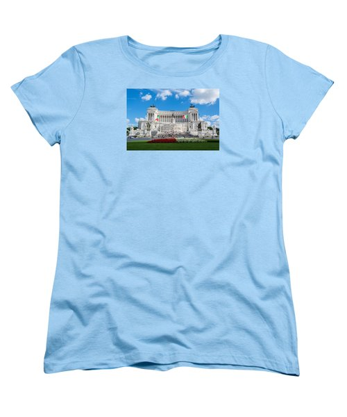 Altare Della Patria-3344 Women's T-Shirt (Standard Cut) by Alex Ursache