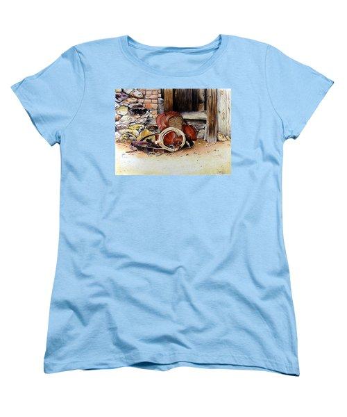 Amanda's Saddle Women's T-Shirt (Standard Cut) by Jimmy Smith