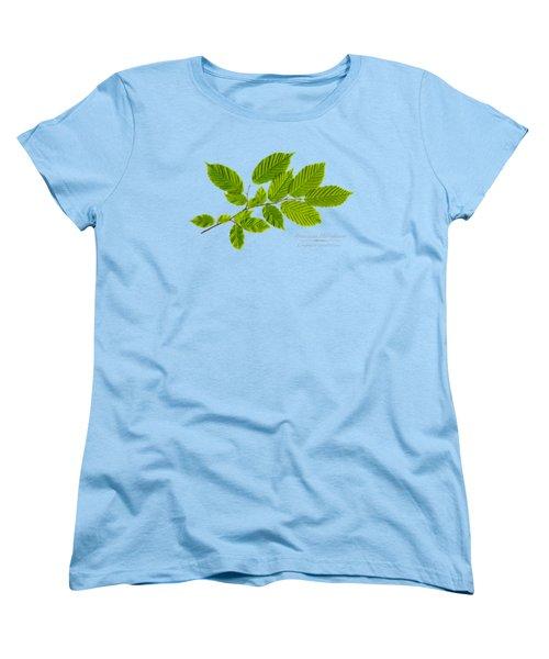 Women's T-Shirt (Standard Cut) featuring the photograph American Hornbeam by Christina Rollo
