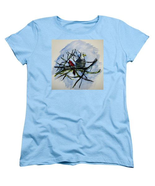 American Picture Women's T-Shirt (Standard Cut) by Clyde J Kell