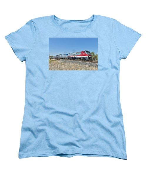 Amtrak 42  Veteran's Special Women's T-Shirt (Standard Cut) by Jim Thompson