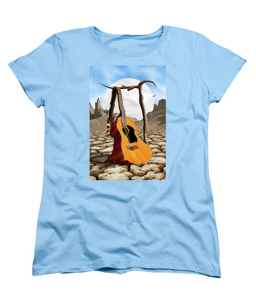 An Acoustic Nightmare Women's T-Shirt (Standard Cut) by Mike McGlothlen