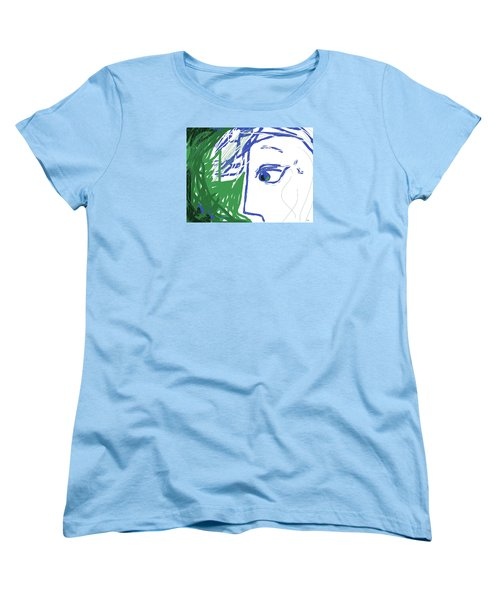 An Eye's View Women's T-Shirt (Standard Cut) by Mary Armstrong