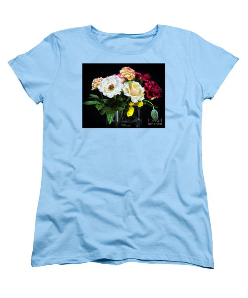 Women's T-Shirt (Standard Cut) featuring the photograph An Informal Study by Tom Cameron