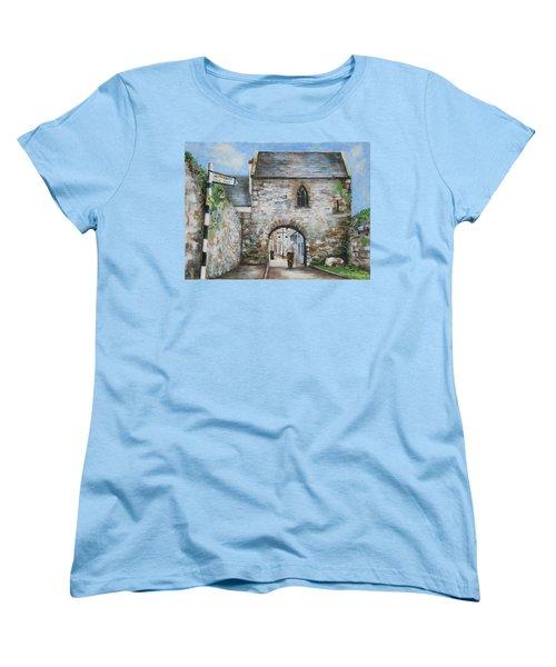 An Tholsel Women's T-Shirt (Standard Cut) by Marty Garland
