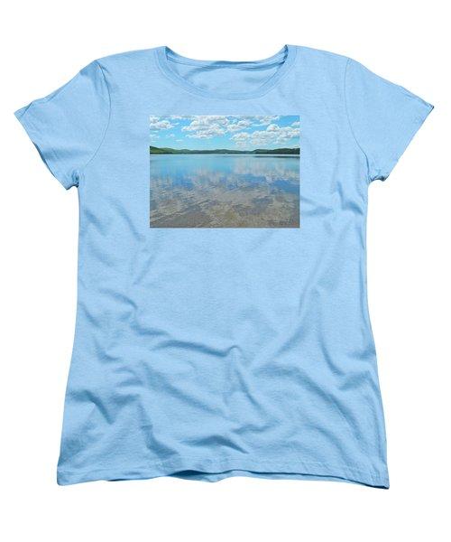Anasagunticook Lake, Canton, Me, Usa 10 Women's T-Shirt (Standard Cut) by George Ramos