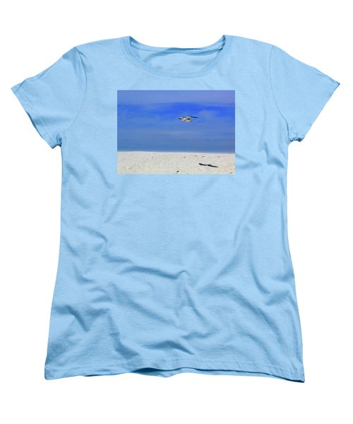 Women's T-Shirt (Standard Cut) featuring the photograph Ancient Mariner by Marie Hicks