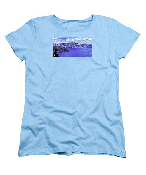 Ancient Waters Women's T-Shirt (Standard Cut) by Nancy Marie Ricketts