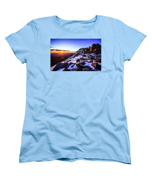 Women's T-Shirt (Standard Cut) featuring the photograph And Then There Was Light by Kristal Kraft