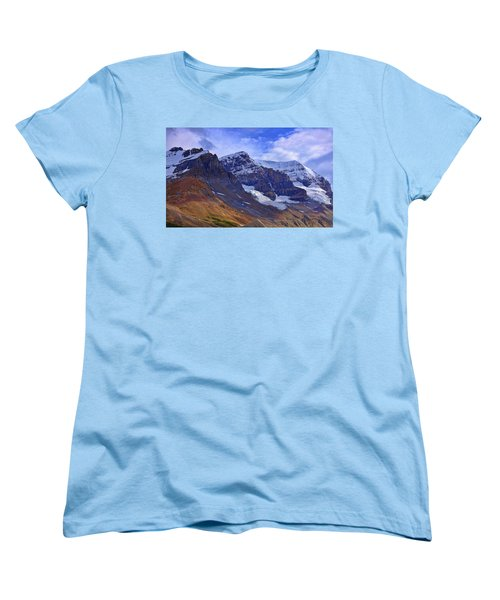Mount Andromeda Women's T-Shirt (Standard Cut) by Heather Vopni