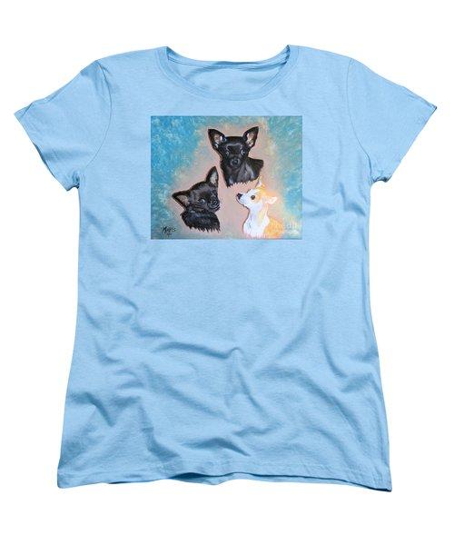 Angel Lilsister Bosco Women's T-Shirt (Standard Cut) by Maris Sherwood