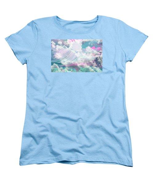 Angel Art Angel Of Peace And Healing Women's T-Shirt (Standard Cut) by Sherri's Of Palm Springs