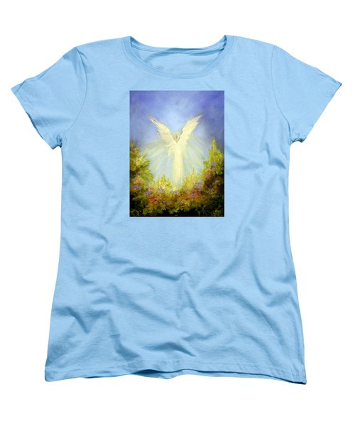Angel's Garden Women's T-Shirt (Standard Cut) by Marina Petro