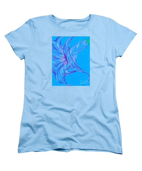 Women's T-Shirt (Standard Cut) featuring the photograph Angel's Trumpet by Kim Sy Ok