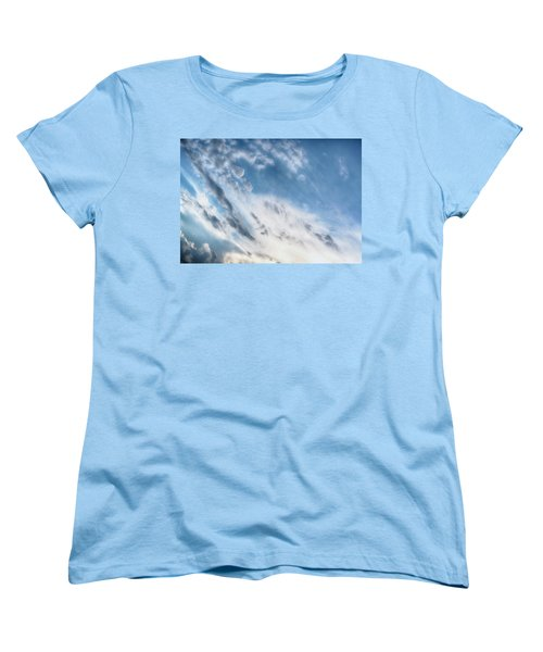 Women's T-Shirt (Standard Cut) featuring the photograph Angry Clouds by Susan Stone