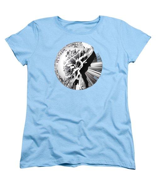 Angst IIi Painting As A Spherical Depth Map. 1 Women's T-Shirt (Standard Cut) by Paul Davenport