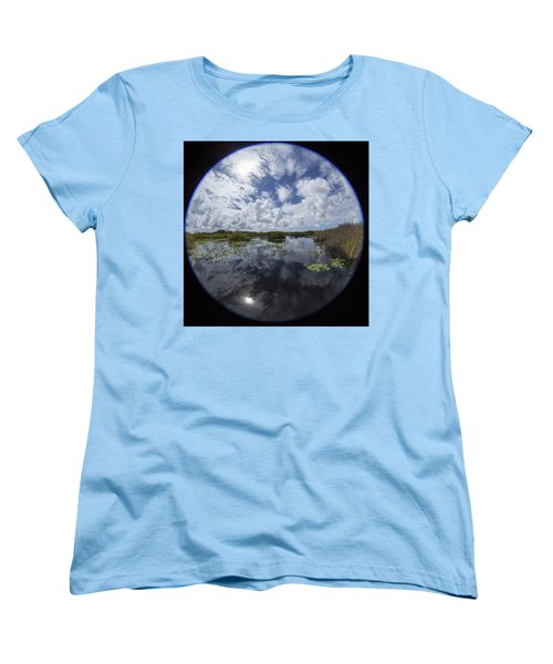 Anhinga Trail 86 Women's T-Shirt (Standard Cut) by Michael Fryd