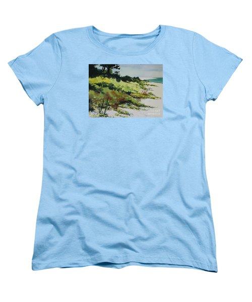 Anna Marie Island Women's T-Shirt (Standard Cut) by Elizabeth Carr
