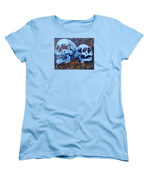 Women's T-Shirt (Standard Cut) featuring the painting Anniversary by Stuart Engel