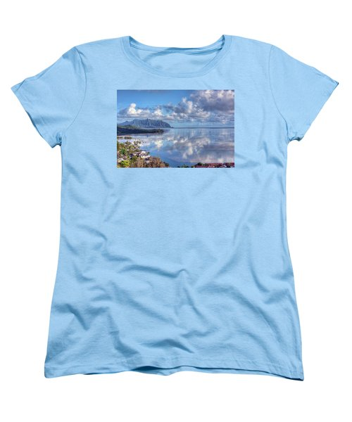 Another Kaneohe Morning Women's T-Shirt (Standard Cut) by Dan McManus