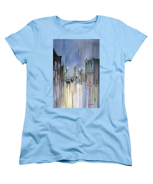 Another Rainy Night Women's T-Shirt (Standard Cut) by Ryan Radke