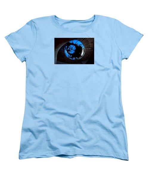 Antarctica Women's T-Shirt (Standard Cut) by David Gilbert