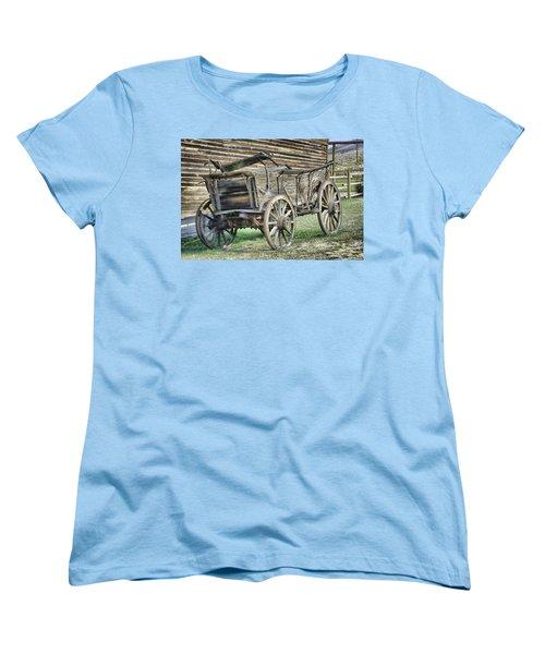 Antique Wagon Women's T-Shirt (Standard Cut)