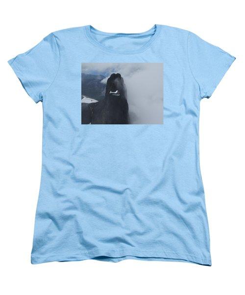 Aop At Black Tusk Women's T-Shirt (Standard Cut) by Mark Alan Perry