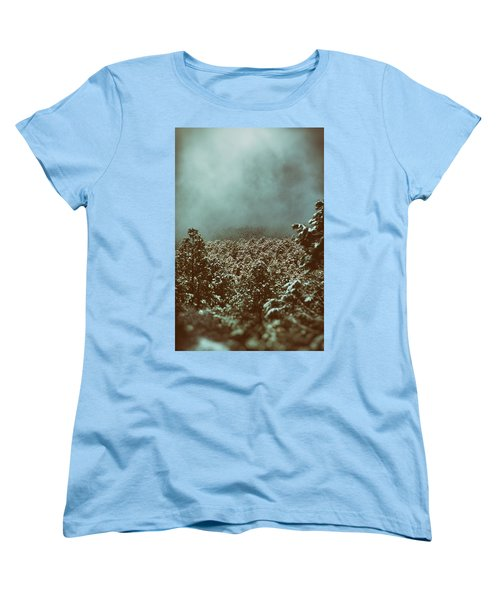 Approaching Storm Women's T-Shirt (Standard Cut) by Jason Coward