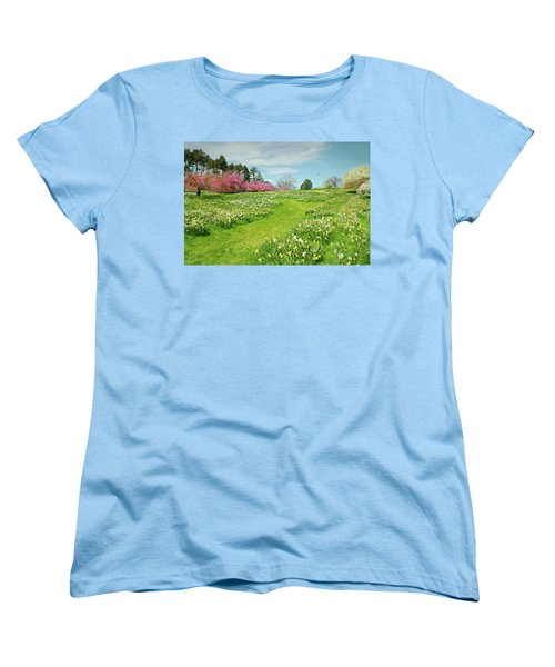 Women's T-Shirt (Standard Cut) featuring the photograph April Days by Diana Angstadt