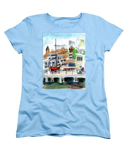 Aquatic Park1 Women's T-Shirt (Standard Cut) by Tom Simmons
