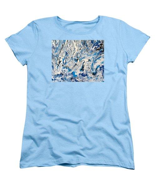 Arctic Frenzy Women's T-Shirt (Standard Cut) by Teresa Wing