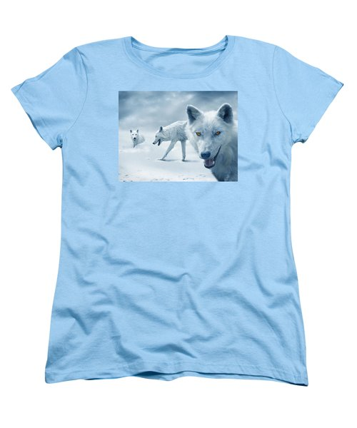 Arctic Wolves Women's T-Shirt (Standard Fit)