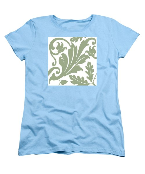 Arielle Olive Women's T-Shirt (Standard Cut) by Mindy Sommers
