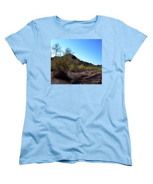 Arizona Desert Women's T-Shirt (Standard Cut) by Renie Rutten