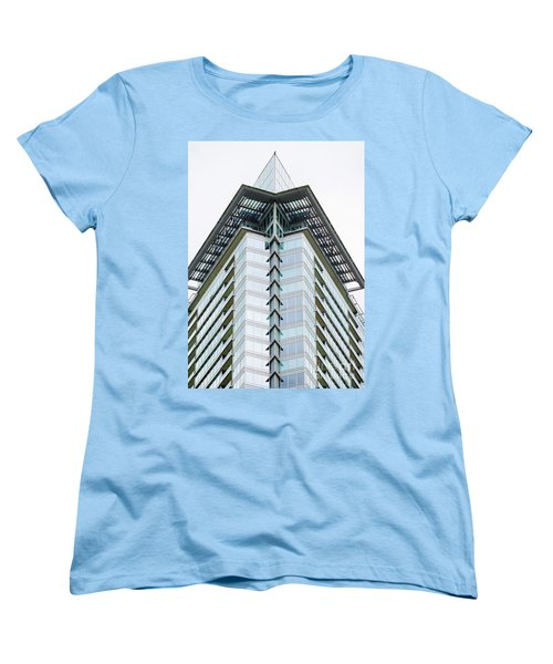 Women's T-Shirt (Standard Cut) featuring the photograph Arrowhead Architecture by Chris Dutton